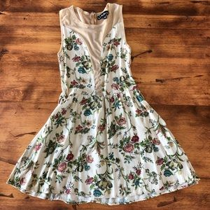 For Love and Lemons floral dress XS